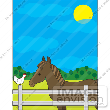Ranch Fence Clipart Ranch Fence Clipart