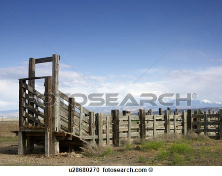Ranch Fence Clipart Usa Utah Wooden Fence On Ranch