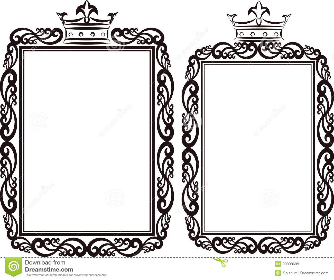 royal borders clipart clipart suggest