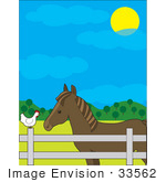 There Is 55 Horse Ranch Free Cliparts All Used For Free