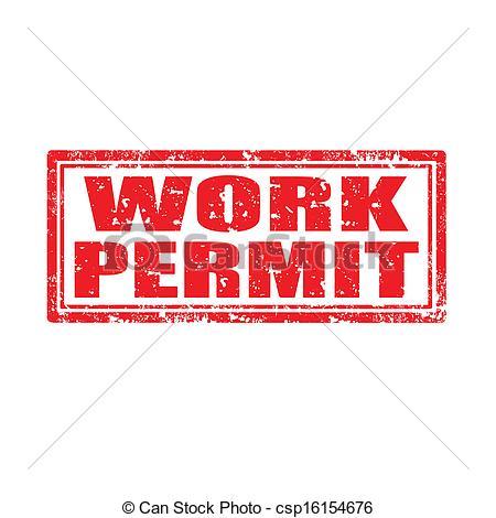 Work Permit Clip Art Cliparts
