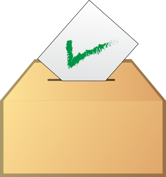 Vote Ballot Clip Art At Clker Com   Vector Clip Art Online Royalty