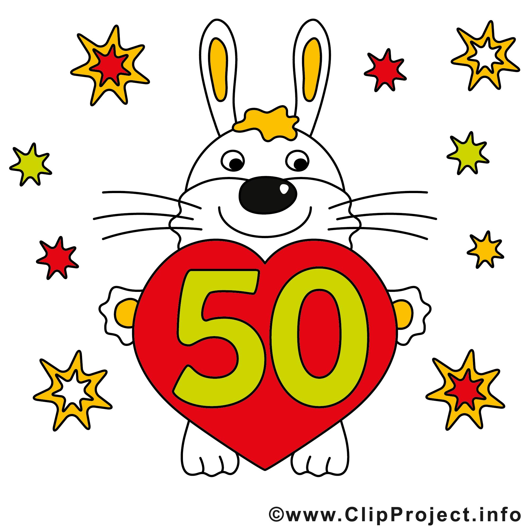 cliparts kostenlos geburtstag 50 - photo #13