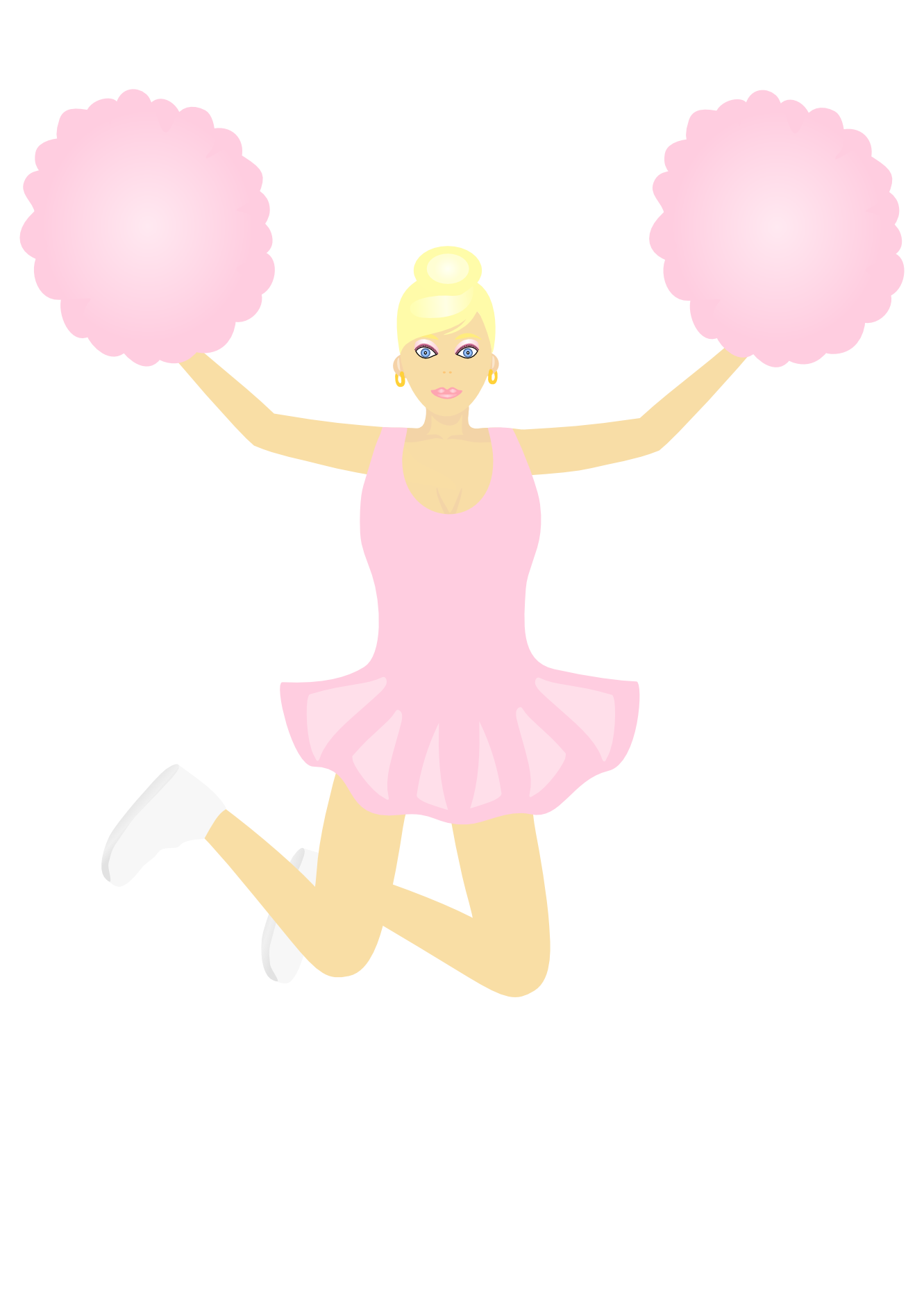 Cheer Toe Touch Clip Art Viewing 20 Images For Cheer Toe Touch Clip