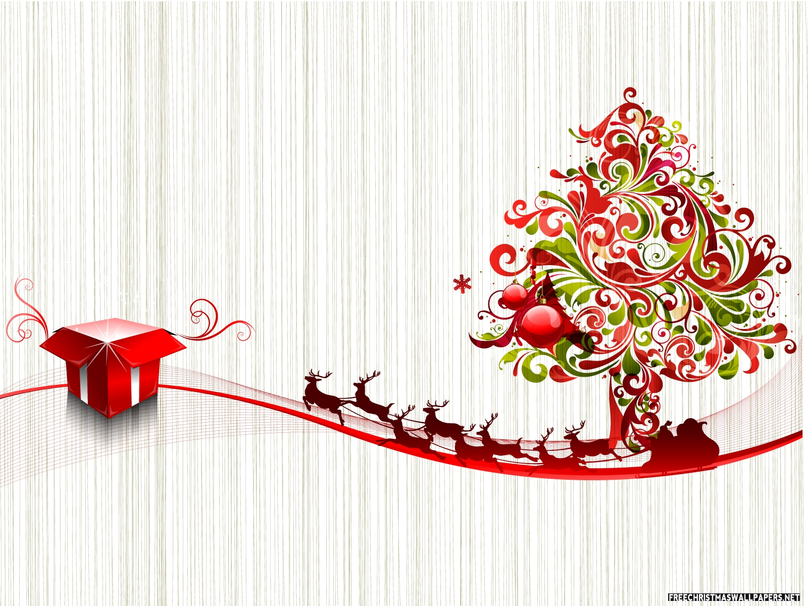 Christmas Day Art Wallpaper   Forwallpaper Com