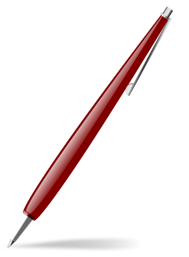 Clip Art Red Pen Clipart - Clipart Kid