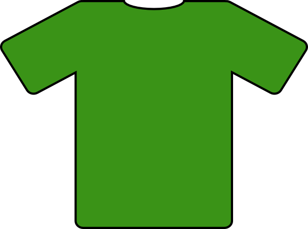 Green Jersey Clip Art At Clker Com   Vector Clip Art Online Royalty