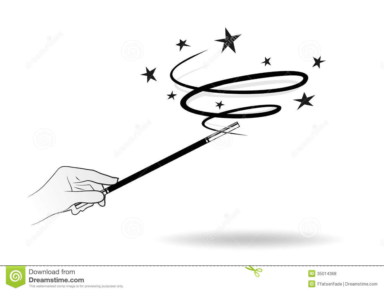 Fairy Magic Wand Clipart - Clipart Suggest