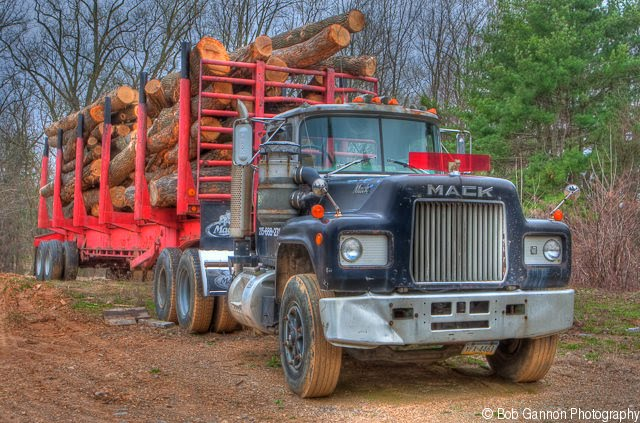 Mack Log Trucks New Mack Trucks Logging 2000 Mack Truck