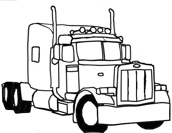 Mack Truck Drawings Free Cliparts That You Can Download To You