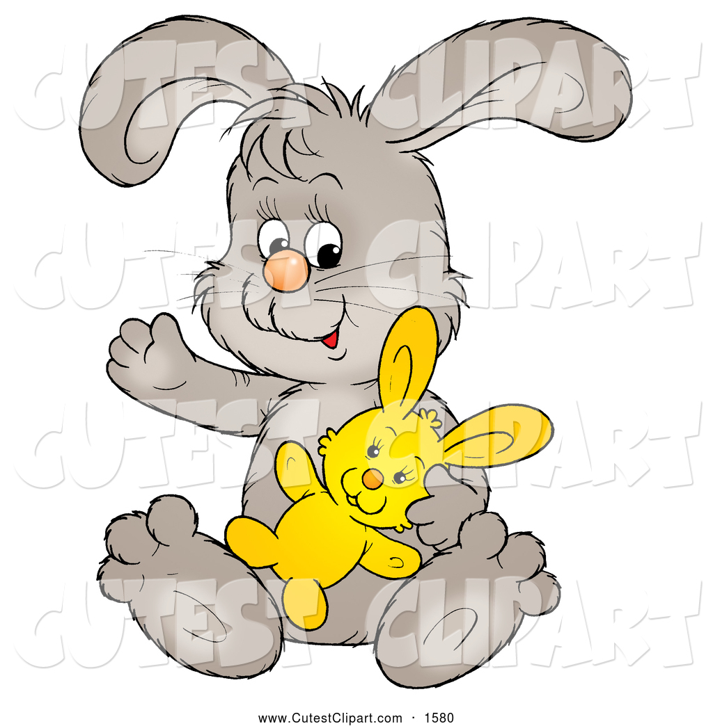 Bunny Stuffed Animal Clipart - Clipart Kid