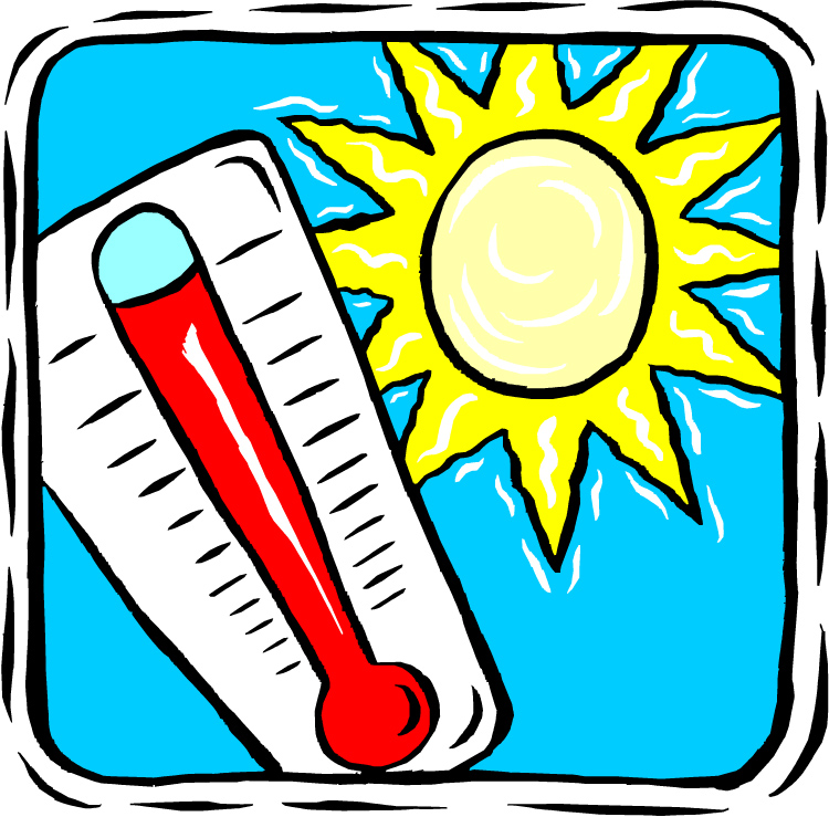 Hot Weather Clipart - Clipart Kid