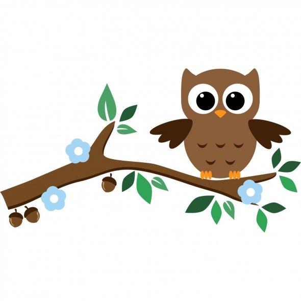 Owl Tree Clipart - Clipart Suggest