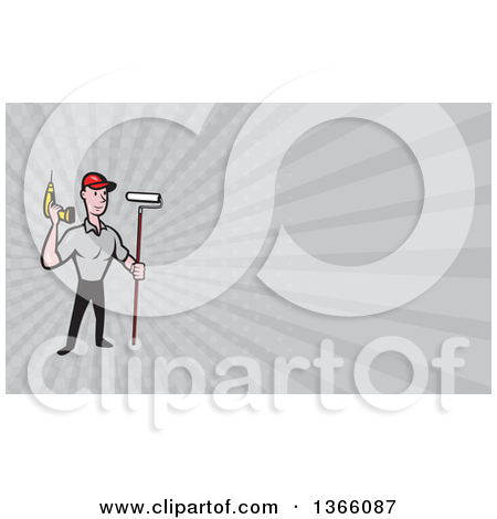 Royalty Free  Rf  Illustrations   Clipart Of Painters  6