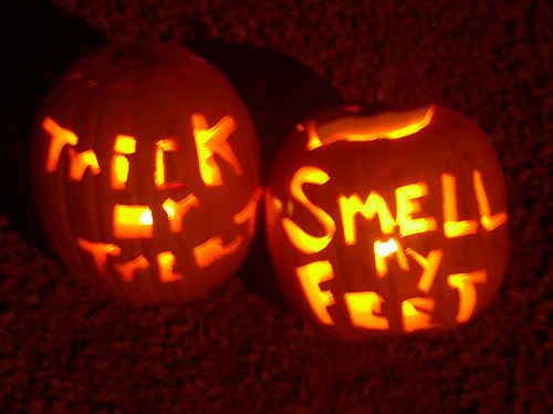 Trick Or Treat Smell My Feet   Flickr   Photo Sharing