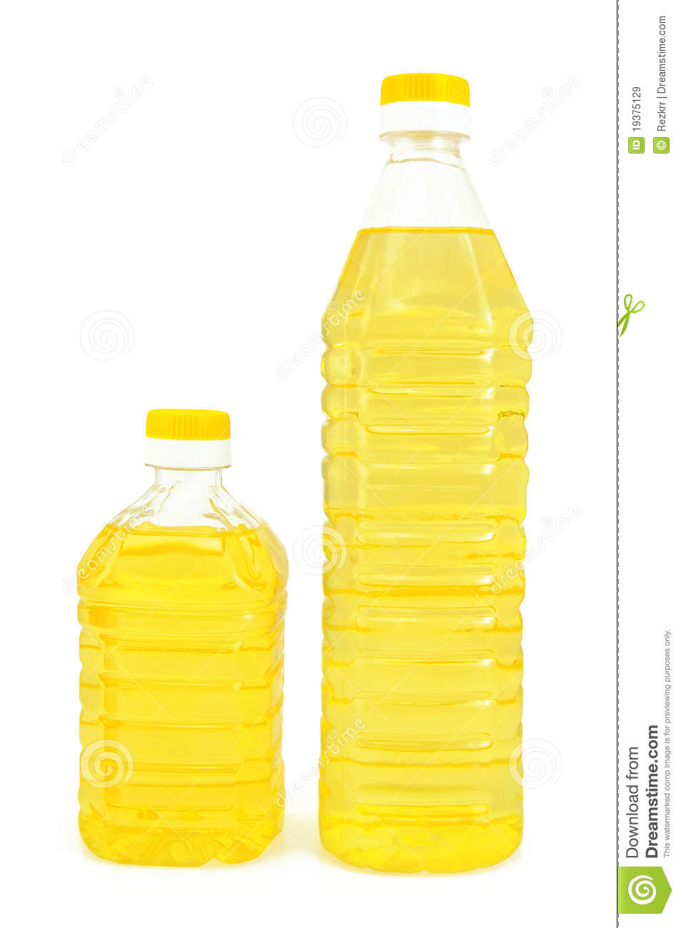 Vegetable Oil Clipart Vegetable Oil In Two Bottles