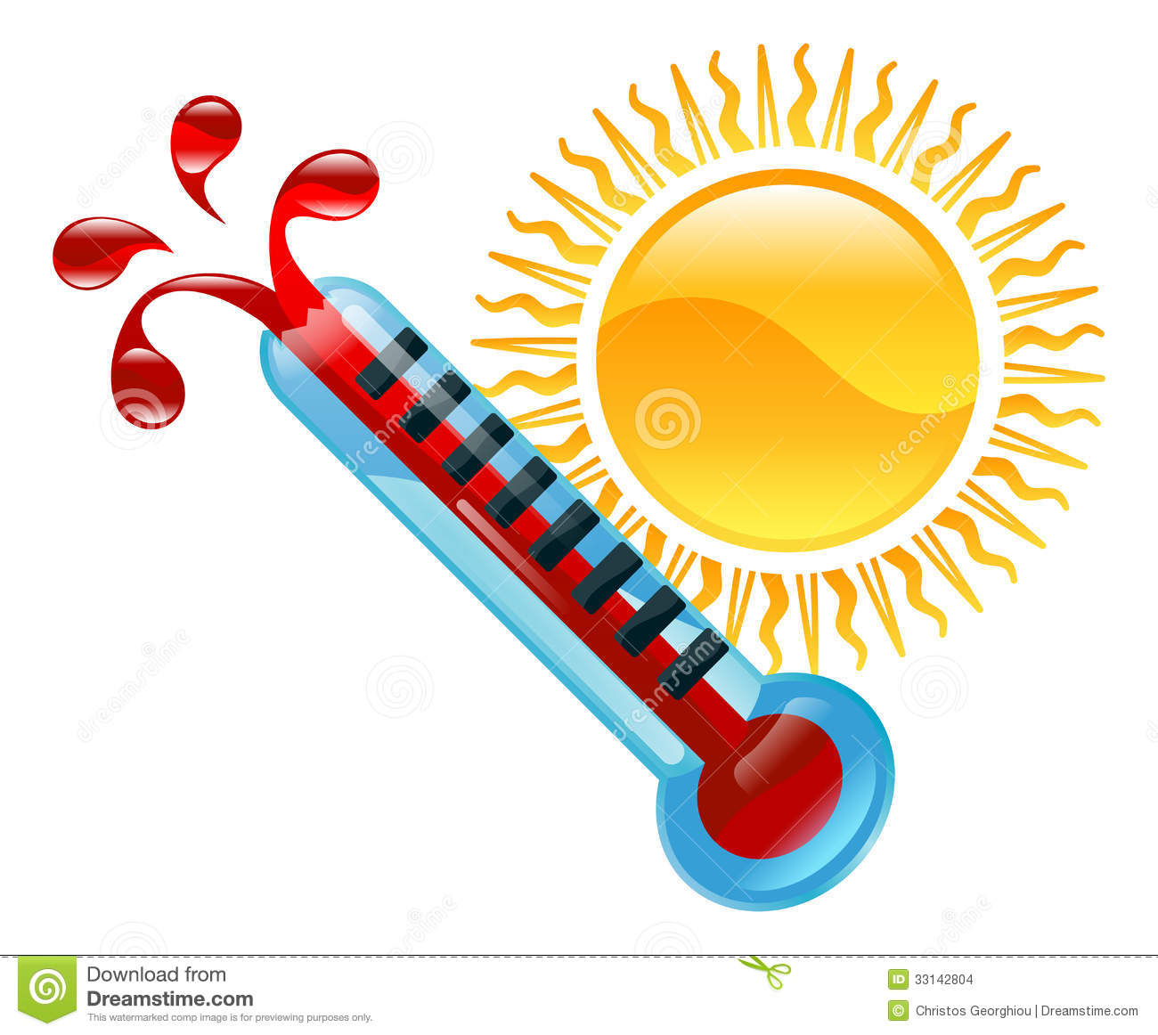 Hot Weather Clipart - Clipart Suggest
