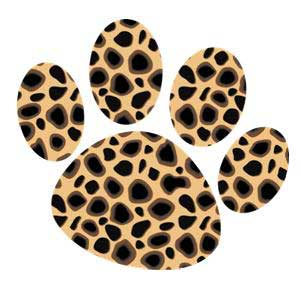 10 Leopard Paw Print Clip Art Free Cliparts That You Can Download To