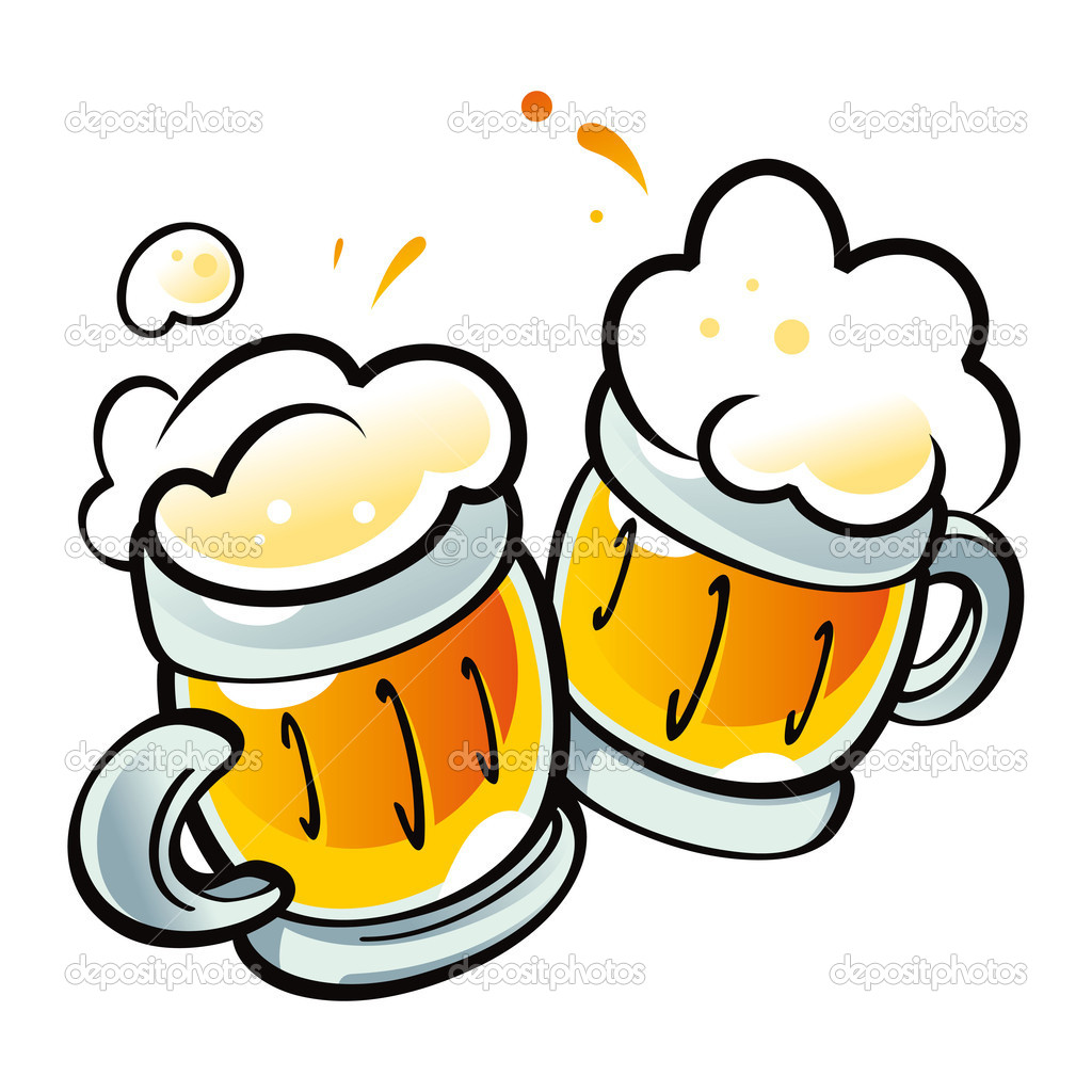 Beer Mugs Drink Alcohol Pub Party   Stock Vector  169 Ofchina