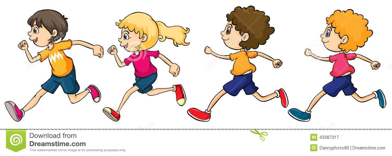 Clip Art Running Clip Art athletes running clipart kid cartoon children race stock photos images pictures