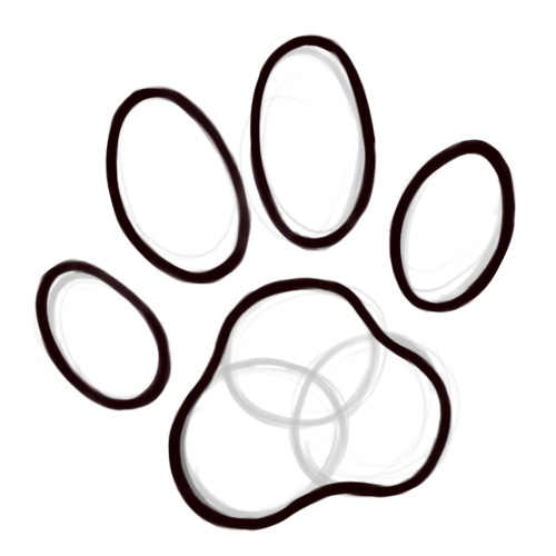 Cheetah Paw Print Drawing Free Cliparts That You Can Download To You
