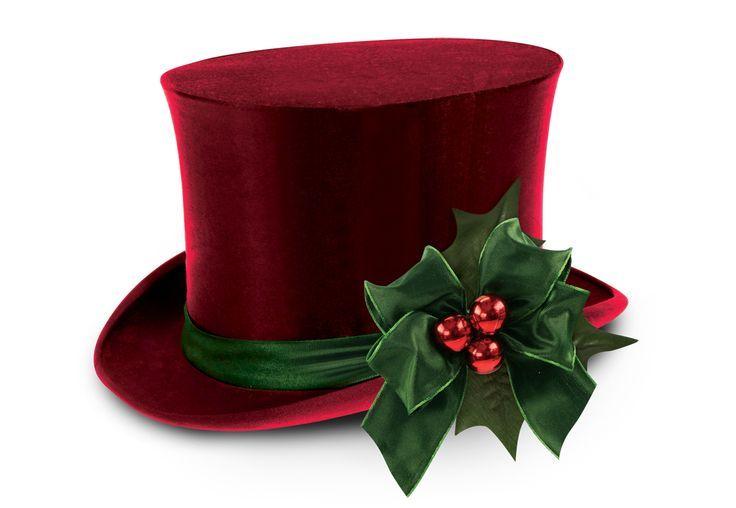 Christmas Top Hat Christmas Hats Pinterest #L1ReJh - Clipart Kid