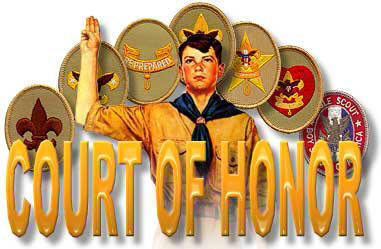 Court Of Honor   Pa Troop 414