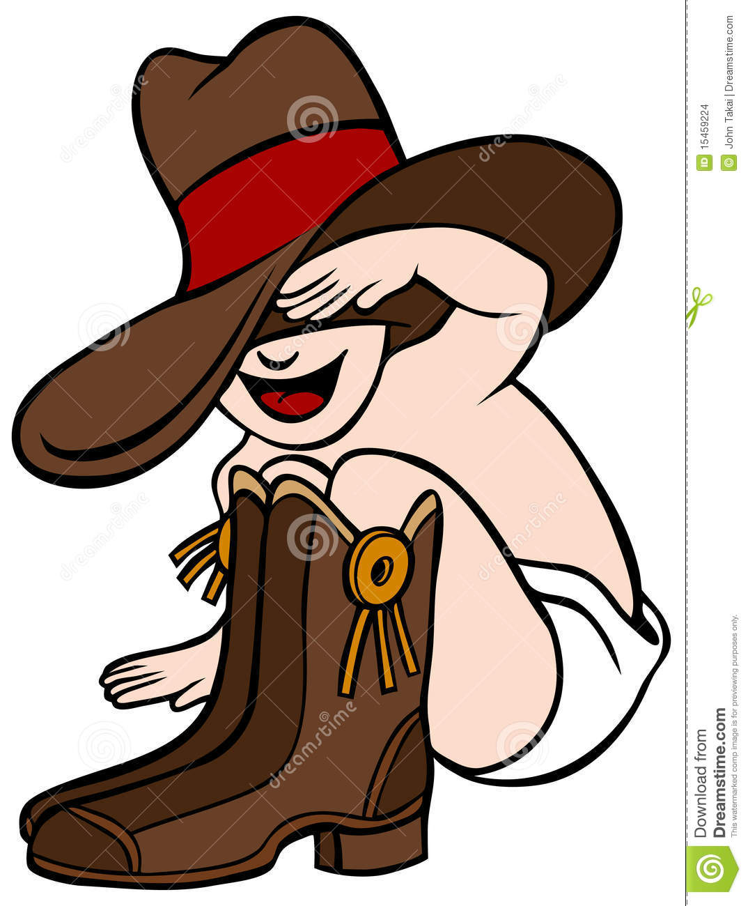 Cowboy Baby Stock Images   Image  15459224