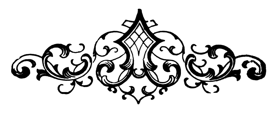 Fancy Scroll Design Clip Art