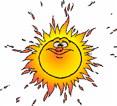 Free Clipart Of Sun Clipart Of A Hot Sun Face If You