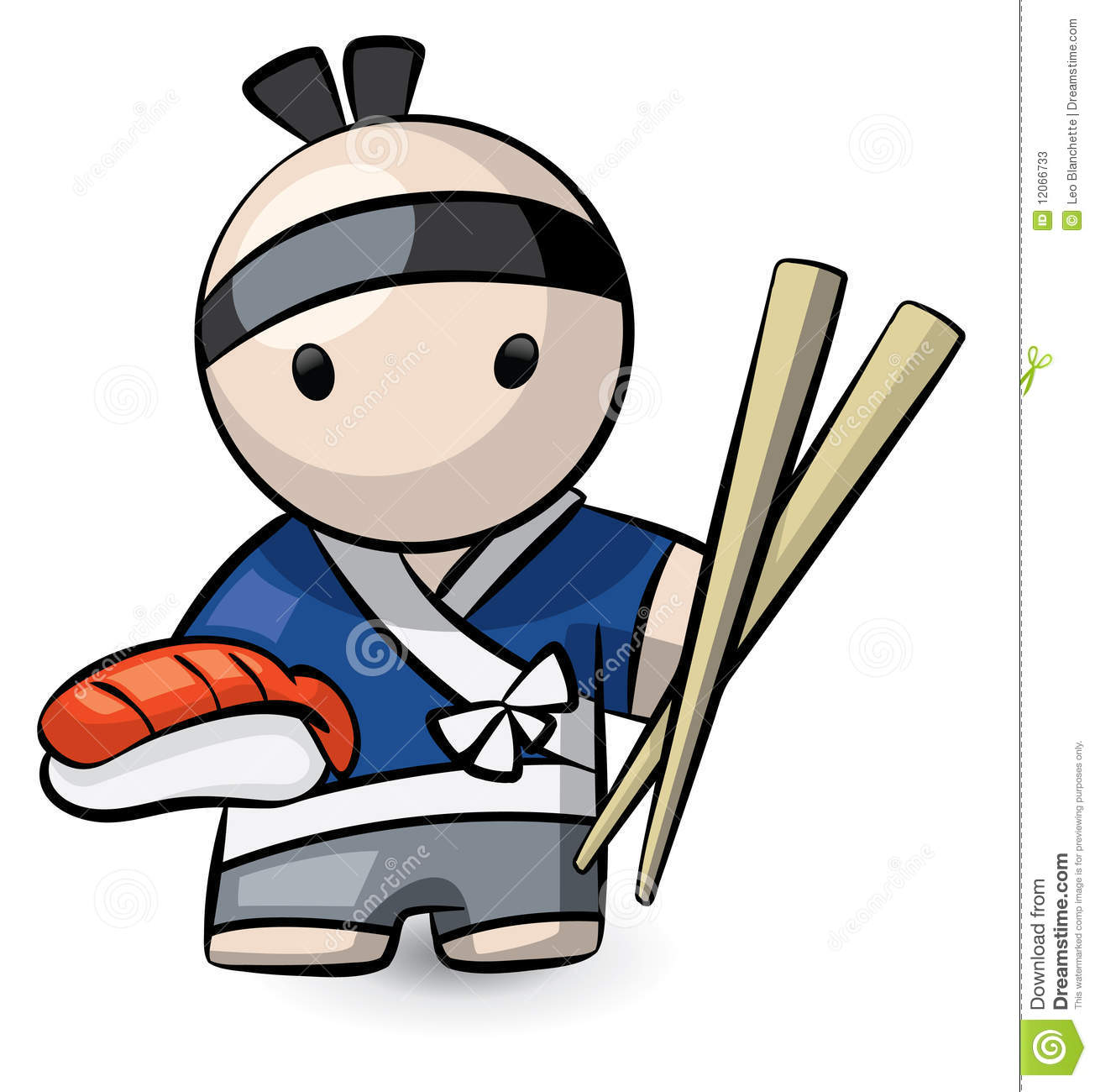 More Similar Stock Images Of   Sushi Chef Character