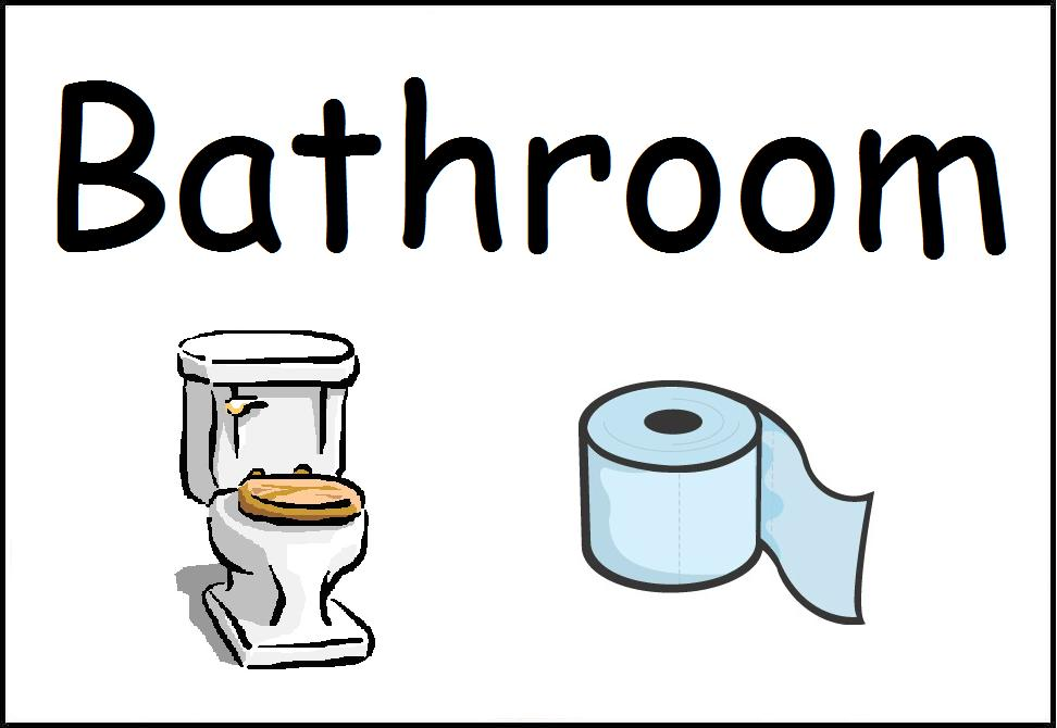New Spanish English Center Signs. Clip Art School Restroom Rules Clipart   Clipart Kid