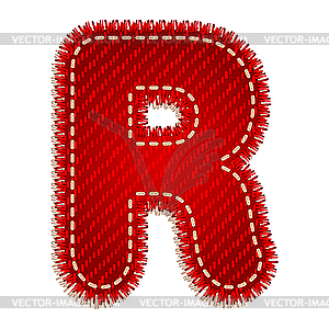 Red Letter R Clip Art