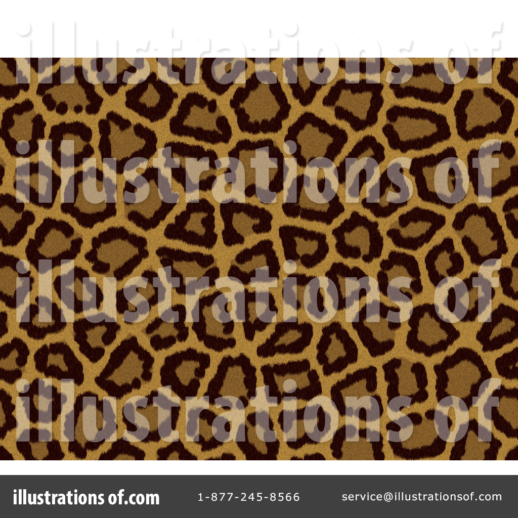 Royalty Free  Rf  Leopard Print Clipart Illustration By Kj Pargeter