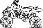 four wheeler black and white clipart clipart suggest