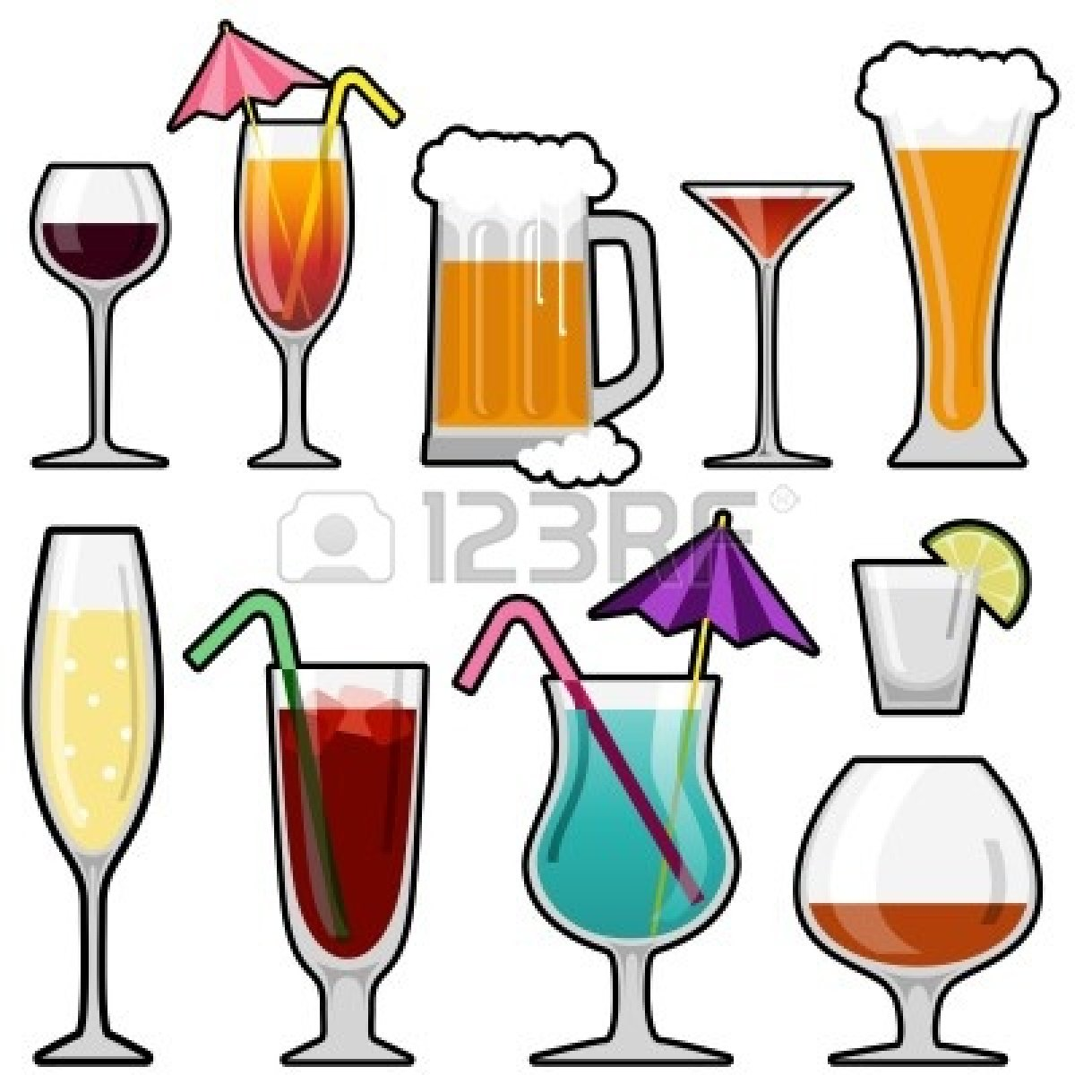 Drinking alcohol clipart clipart suggest for Mix drinks with wine