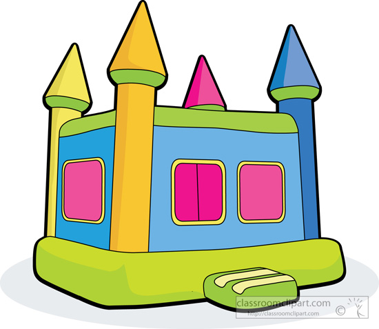 Back   Gallery For Slide Bounce House Clipart
