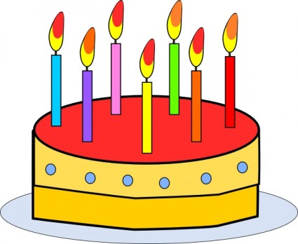 75 Birthday Cakes Candles Clipart - Clipart Suggest