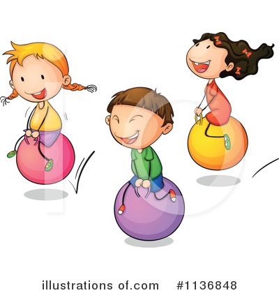 Bounce Clipart  1136848   Illustration By Colematt