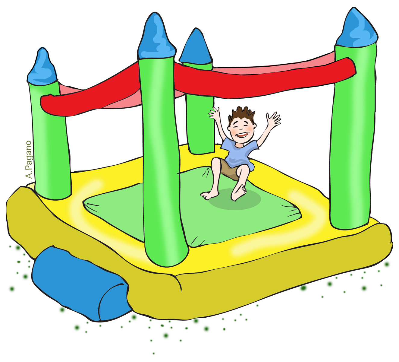 Bouncer Clipart Bounce Clipart Carnivalbouncehouse Jpg