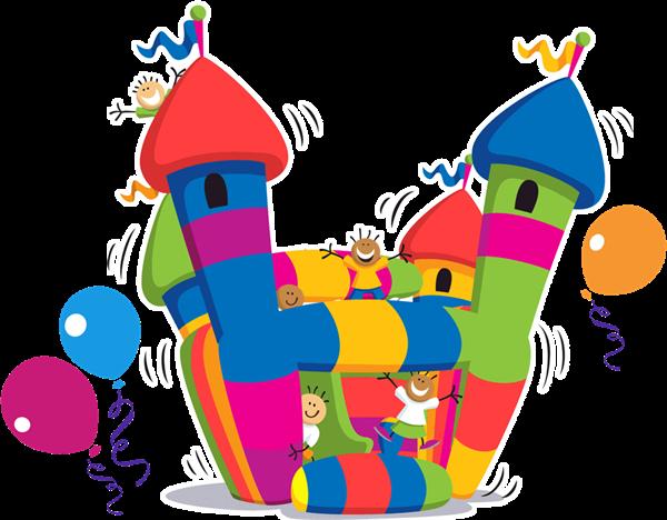 Jump House Clipart - Clipart Kid
