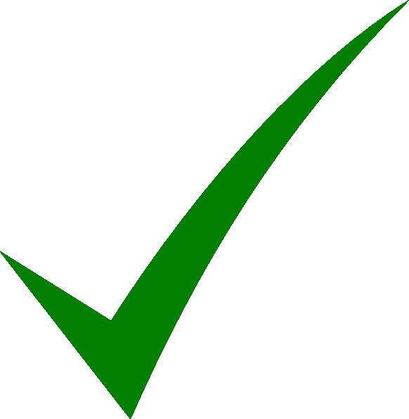 Check Mark Clip Art At Clker Com   Vector Clip Art Online Royalty