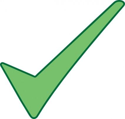 Check Mark Symbol Clip Art Free Vector 45 67kb