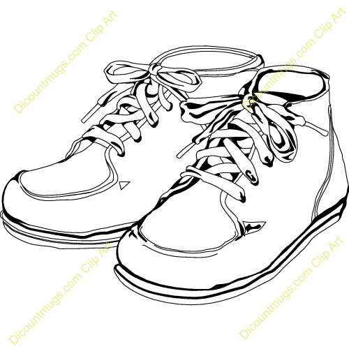 Clip Art Baby Shoes Clipart - Clipart Kid