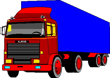 Clipart Camion   Image Camion   Gif Anim  Camion