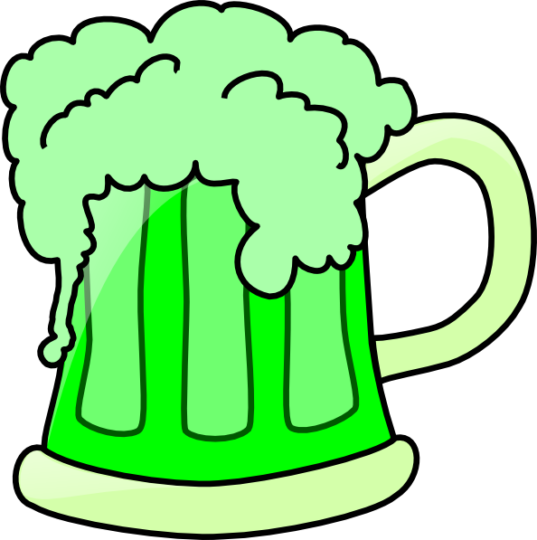 Green Beer Clip Art At Clker Com   Vector Clip Art Online Royalty
