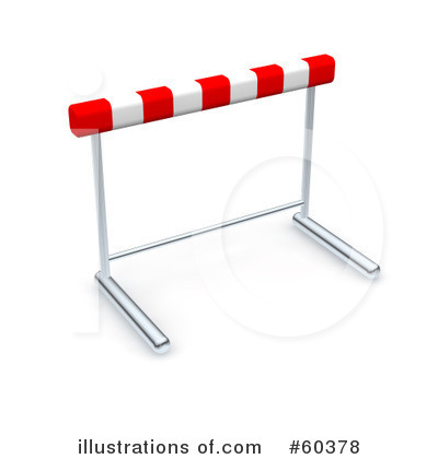 Hurdles Clipart Royalty Free  Rf  Hurdle Clipart Illust