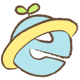 Internet Explorer Drawing Icon