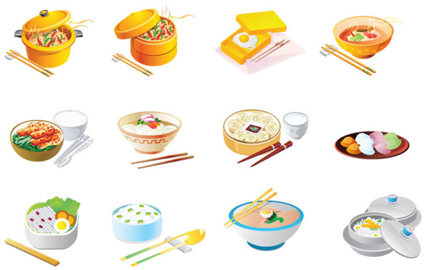 Keywords  Cartoons Food Icon Interview Eggs Noodles Fried Rice