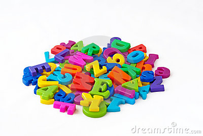 magnetic alphabet letters royalty free stock photo image 20445115